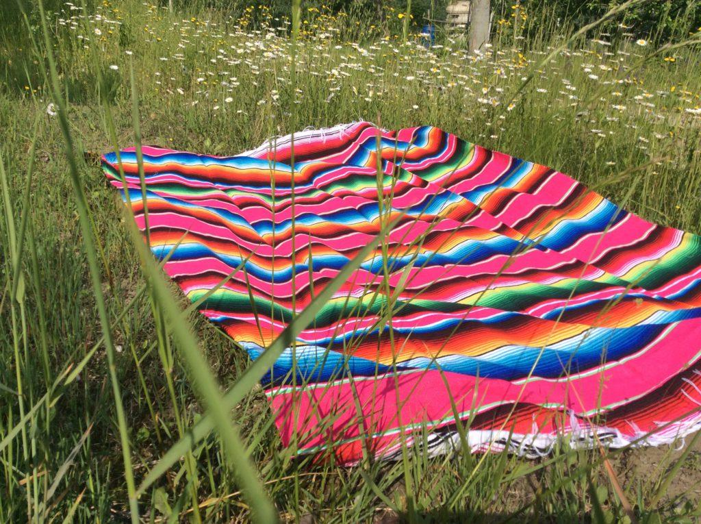 Mexicaanse serape deken