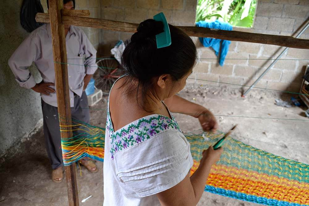 hamaca Mexicana maya